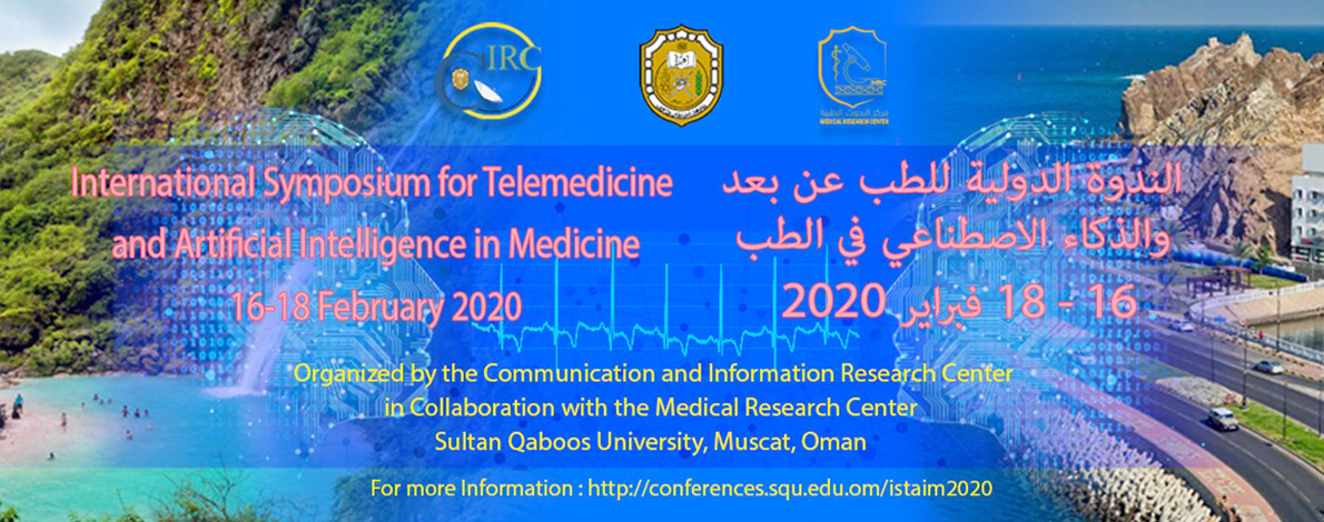 imgInternational Symposium for TeleMedicine & Artificial Intelligence in Medicine