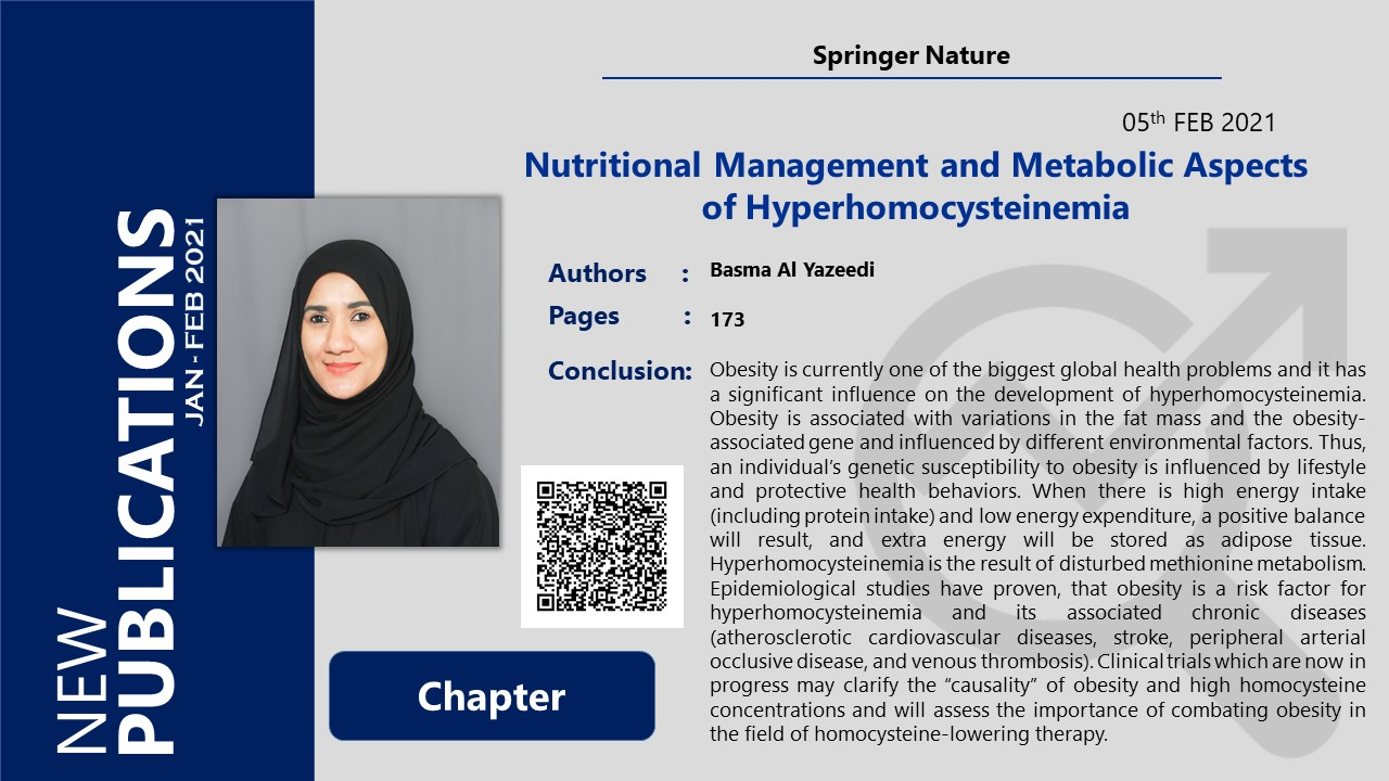 Nutritional Management and Metabolic Aspects of Hyperhomocysteinemia