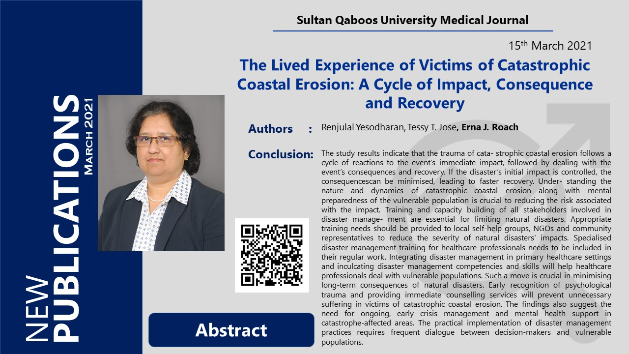 The Lived Experience of Victims of Catastrophic Coastal Erosion: A Cycle of Impact, Consequence and Recovery