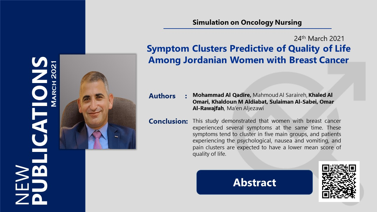 Symptom Clusters Predictive of Quality of Life Among Jordanian Women with Breast Cancer