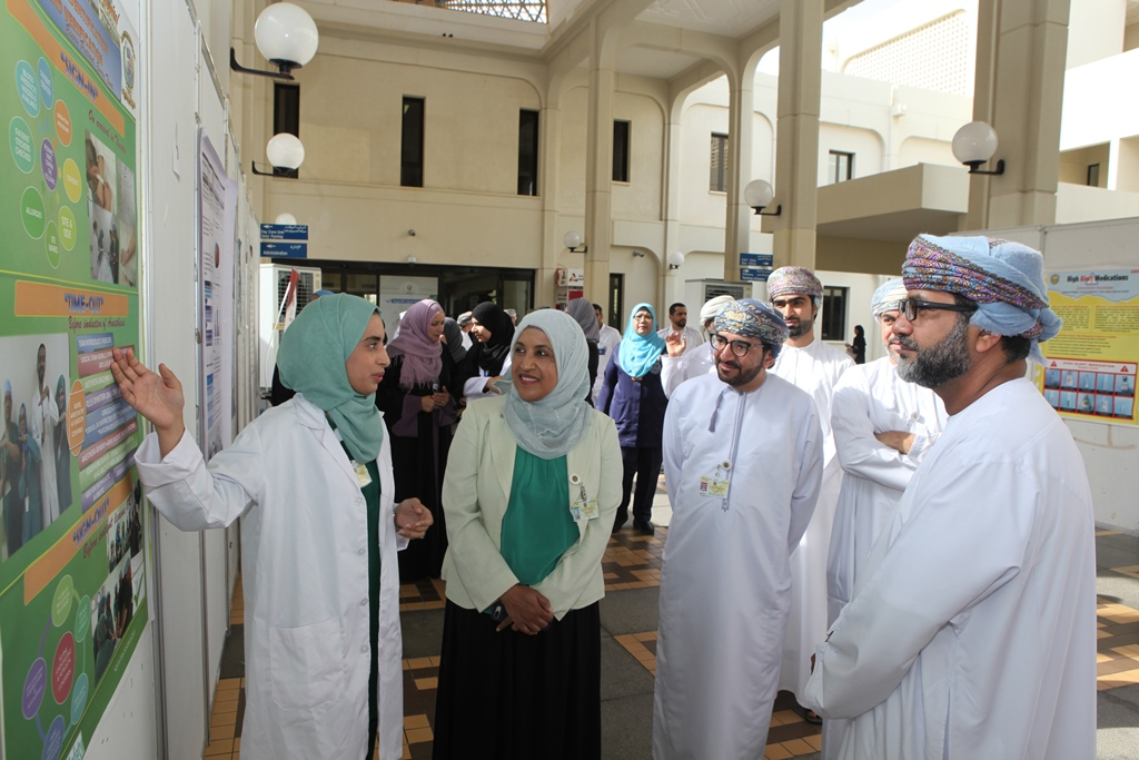 Sultan Qaboos University Hospital celebrates the first World Patient Safety Day