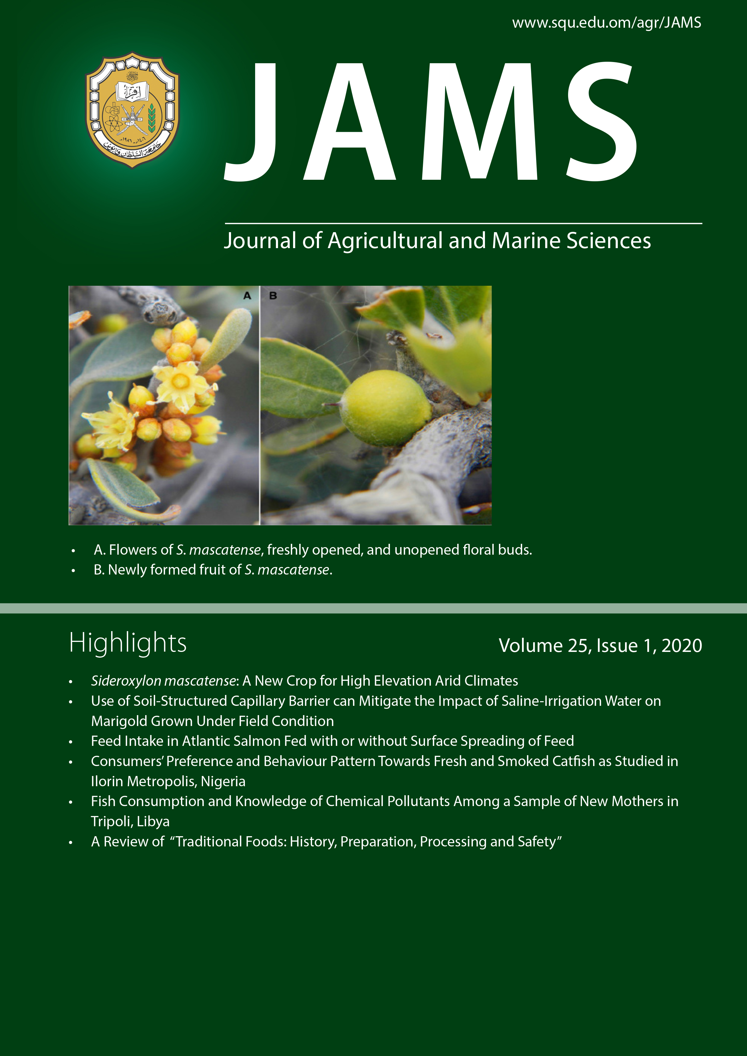 Agricultural Research Journal and Marine Science