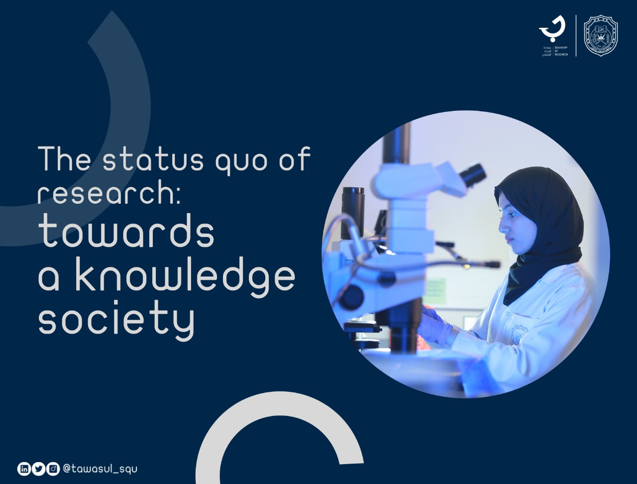 The status quo of research: towards a knowledge society