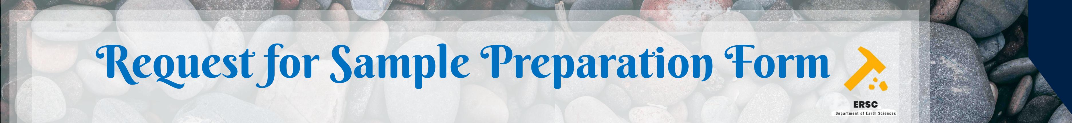Sample Preparation Form