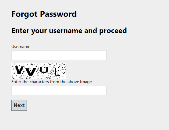 forget password1